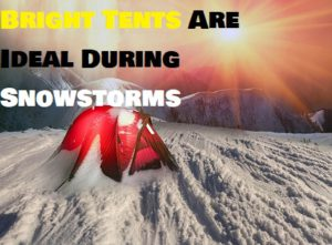 What Color Tent Is Best For Winter