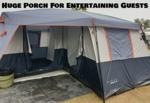 Luxurious Tent With Large Porch Area