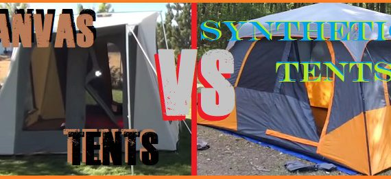 Canvas Tent vs Nylon Tent vs Polyester