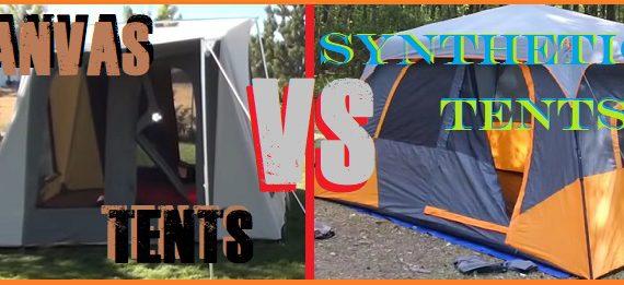 Canvas Tent vs Nylon Tent vs Polyester