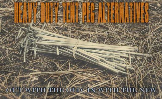 Heavy Duty Tent Peg Alternatives