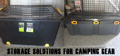 Storage Containers For Camping Gear