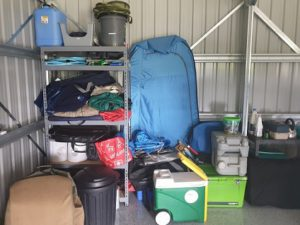 Where To Store Camping Gear
