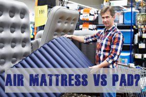 Air Mattress Or Pad For Camping