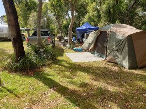 Camping Offers Large Space For Families