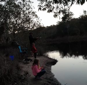 Camping Fishing With Kids