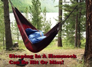 Can You Sleep in a Hammock While Camping