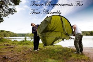 Setting up tent versus a hammock